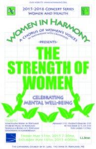 strength of women poster - crossroads